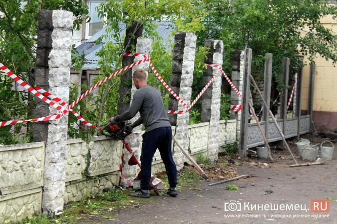 Спустя два года в центре Кинешмы построят новый забор фото 8
