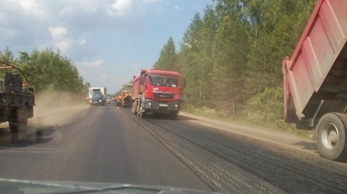 Аварийный участок дороги у деревни Зименки отремонтирован фото 2