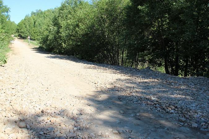 Отремонтирован участок дороги Воздвиженье–Копытово–Милитино фото 2