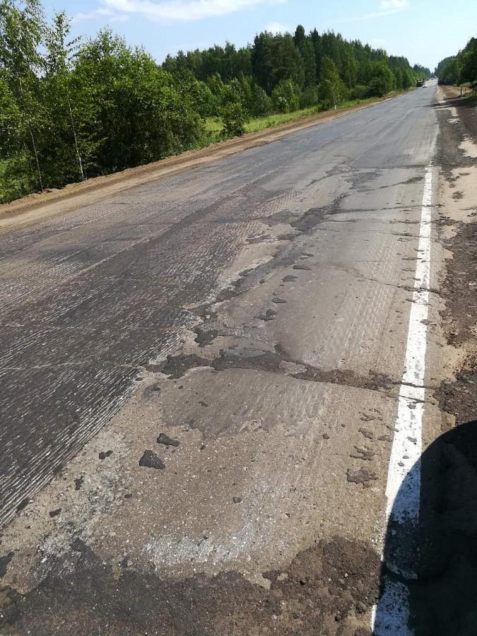 Вновь возобновлен ремонт дороги Кинешма-Наволоки фото 2