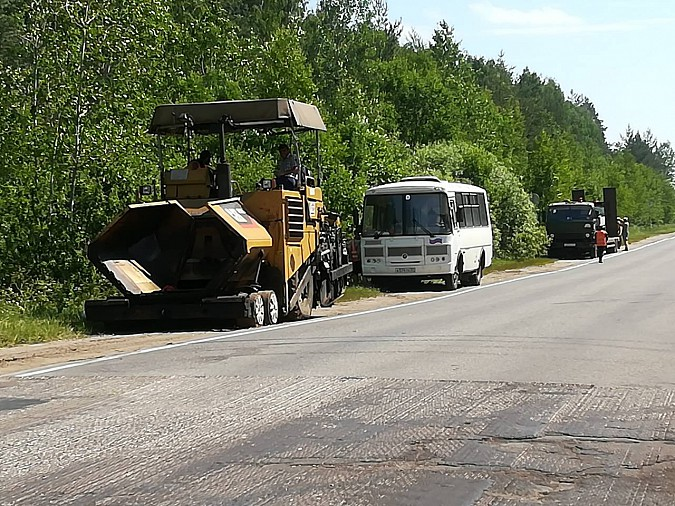 Вновь возобновлен ремонт дороги Кинешма-Наволоки фото 4