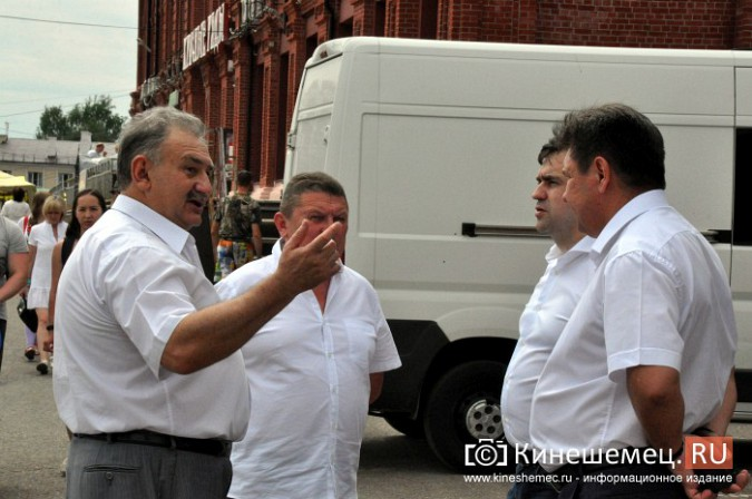 Андрей Назаров впервые за 12 лет побывал на Дне Кинешмы фото 9