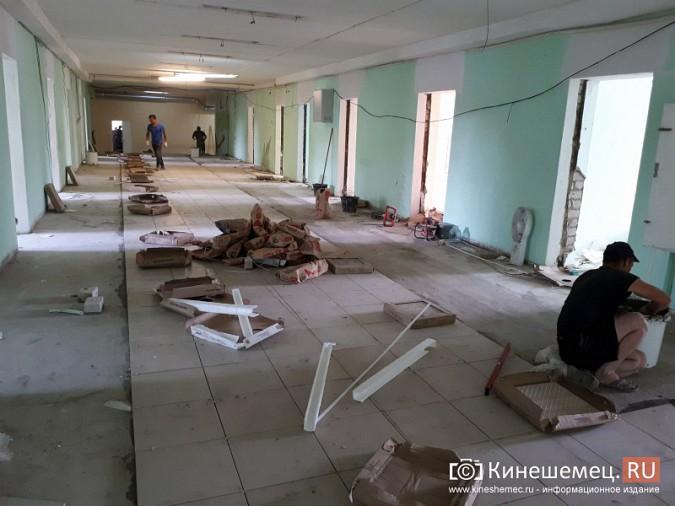 Поликлинику имени Захаровой ремонтируют почти в круглосуточном режиме фото 16