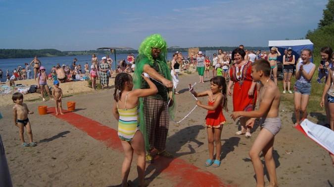 В Наволоках Волжский Нептун провел обряд посвящения в моряки фото 3