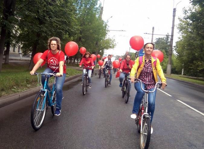 Велопробег против пенсионной реформы провели в Ивановской области фото 2