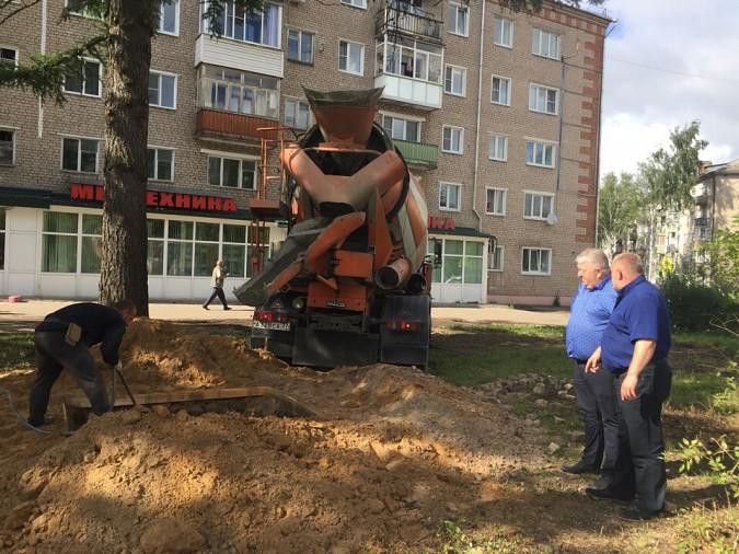 В Кинешме запущены работы по установке бюста генералу Маргелову фото 2