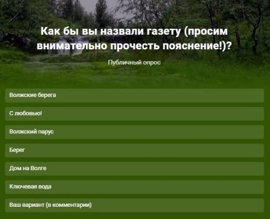 В Кинешме выбирают название для православной газеты фото 2