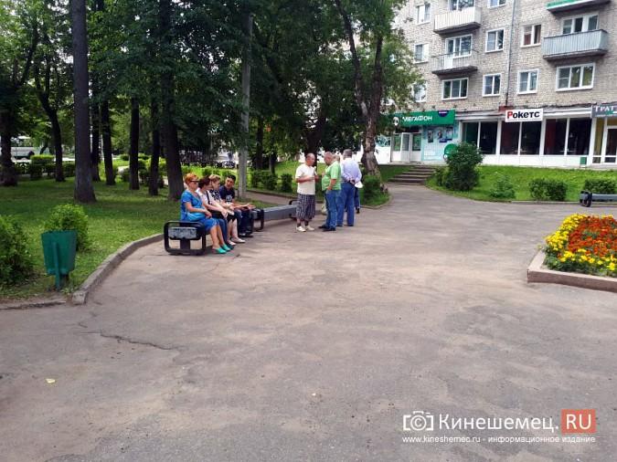 В Кинешме единороссы попытались заткнуть рот женщине, которая высказала мнение о пенсионной реформе фото 4