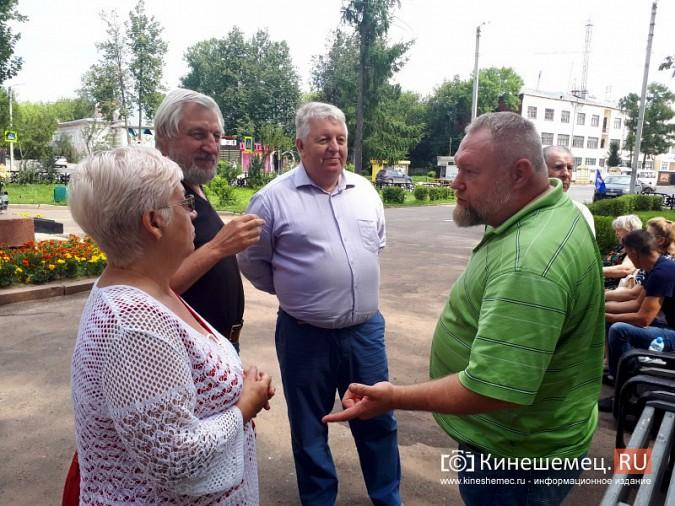 В Кинешме единороссы попытались заткнуть рот женщине, которая высказала мнение о пенсионной реформе фото 3