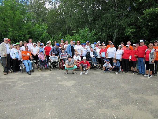 В Кинешме прошли паралимпийские соревнования фото 12