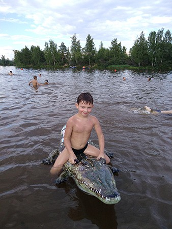 Глеб Путилин, 8 лет