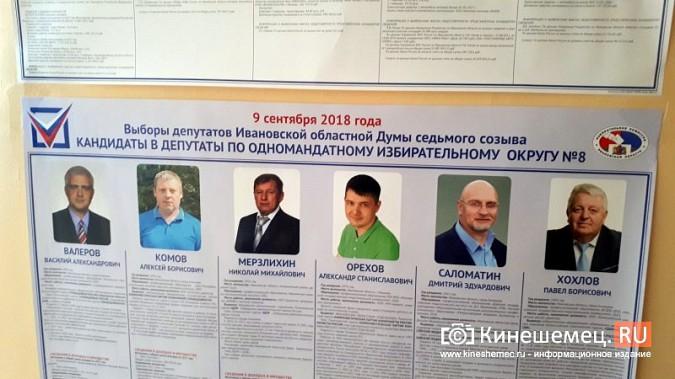 Кинешма выбирает губернатора и депутатов облдумы: онлайн - трансляция фото 42