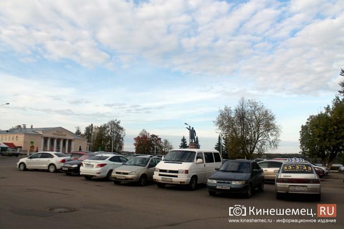 В Кинешме запрещена парковка у памятника В.И.Ленину фото 2
