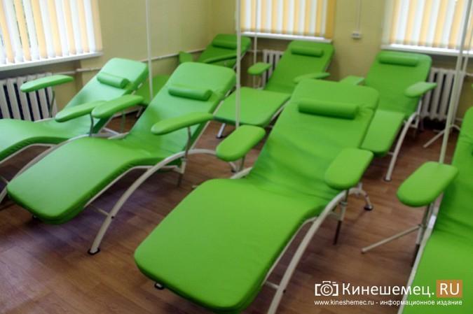 Кинешемских ветеранов ознакомили с работой отремонтированной поликлиники им. Захаровой фото 23