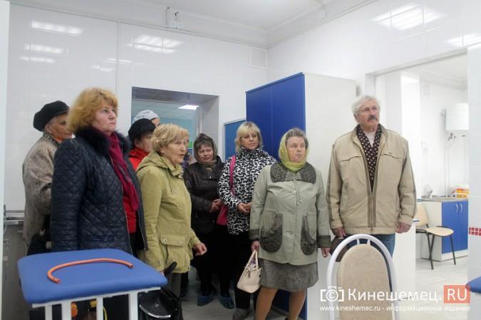 Кинешемских ветеранов ознакомили с работой отремонтированной поликлиники им. Захаровой фото 18