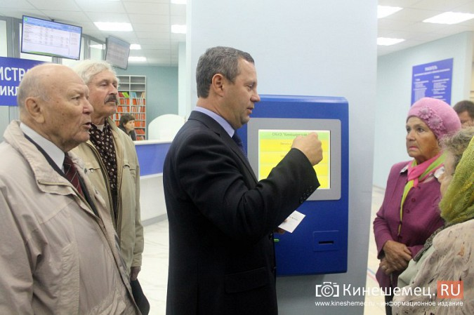 Кинешемских ветеранов ознакомили с работой отремонтированной поликлиники им. Захаровой фото 5