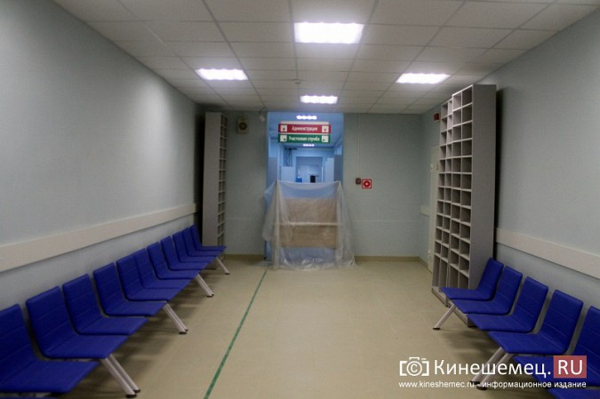 Кинешемских ветеранов ознакомили с работой отремонтированной поликлиники им. Захаровой фото 27