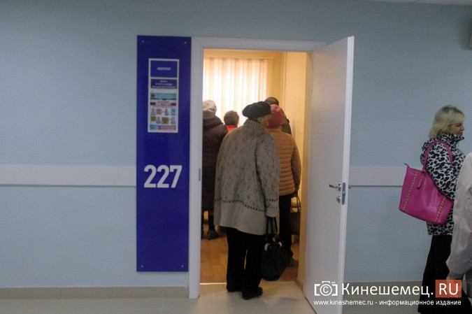 Кинешемских ветеранов ознакомили с работой отремонтированной поликлиники им. Захаровой фото 24