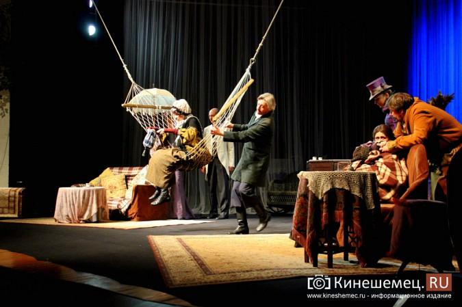 «Волки и овцы» «Мастерской П.Фоменко» два дня собирали в Кинешме полные залы фото 11