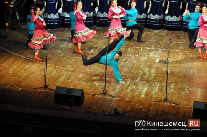 Ансамбль донских казаков дал грандиозный концерт в Кинешме фото 52