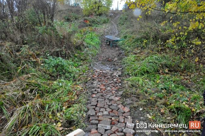 В Кинешме восстановили мост через речку Козлиху фото 4