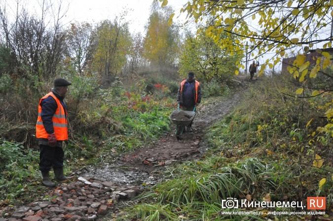 В Кинешме восстановили мост через речку Козлиху фото 8