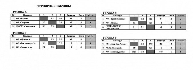 «Наши надежды» из Кинешмы выиграли турнир в Муроме фото 2