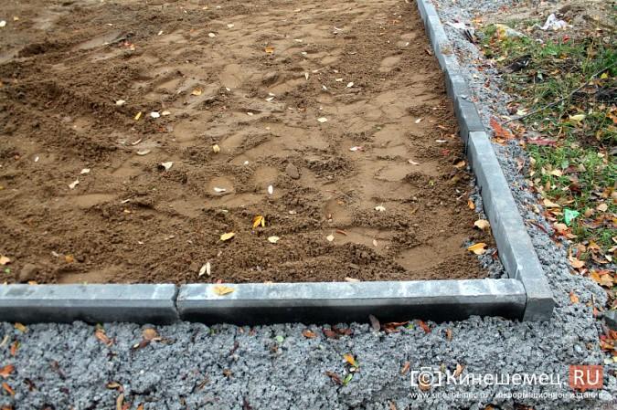 В микрорайоне «Автоагрегат» продолжаются работы по благоустройству досуговой площадки фото 17