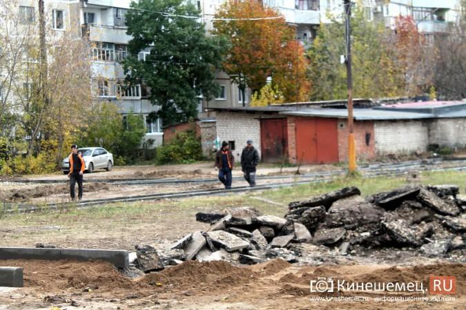 В микрорайоне «Автоагрегат» продолжаются работы по благоустройству досуговой площадки фото 3