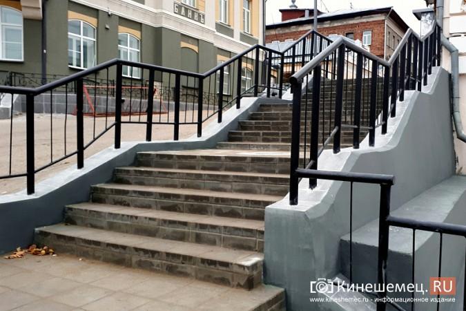 В центре Кинешмы завершается ремонт лестниц фото 3