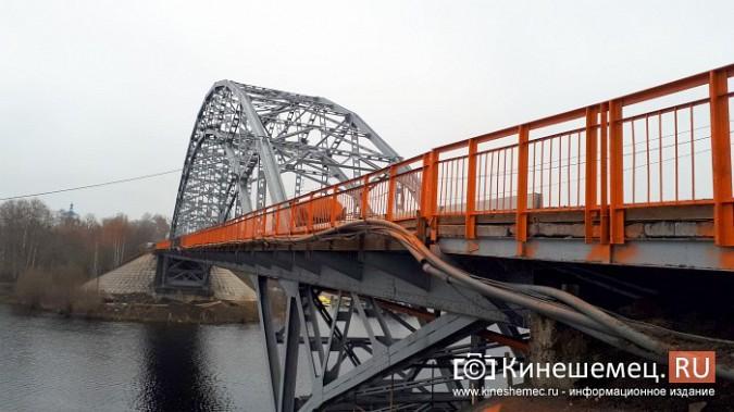 Кинешемский Никольский мост заиграл оранжевыми красками фото 15