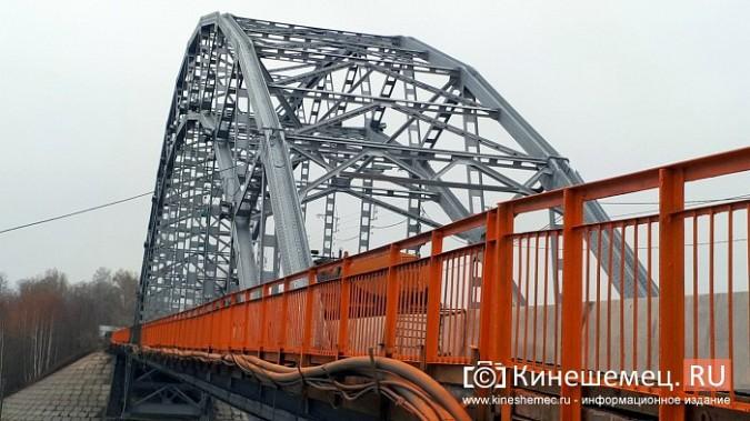 Кинешемский Никольский мост заиграл оранжевыми красками фото 16