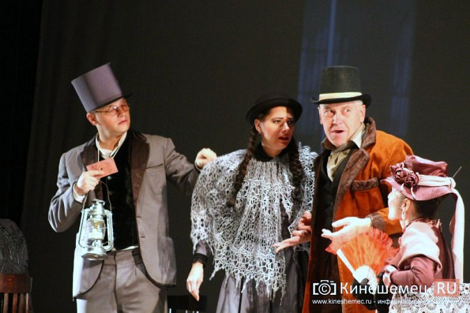 В Кинешме состоялась премьера спектакля «Пестрые рассказы» фото 3