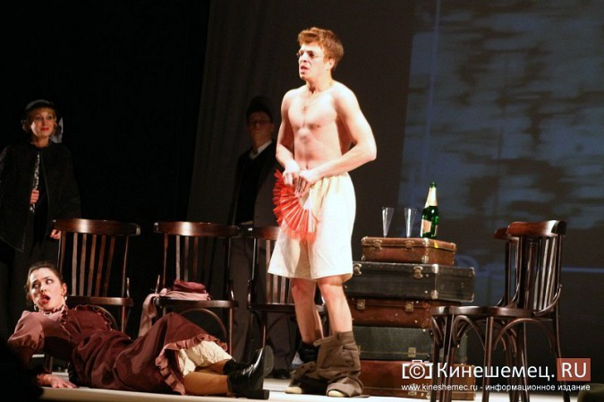 В Кинешме состоялась премьера спектакля «Пестрые рассказы» фото 8
