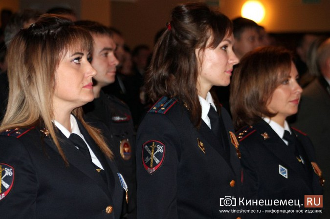 В Кинешме отметили День сотрудника органов внутренних дел фото 12