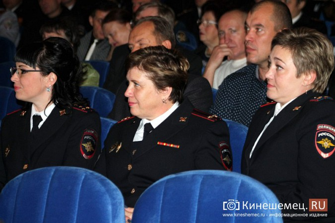 В Кинешме отметили День сотрудника органов внутренних дел фото 20
