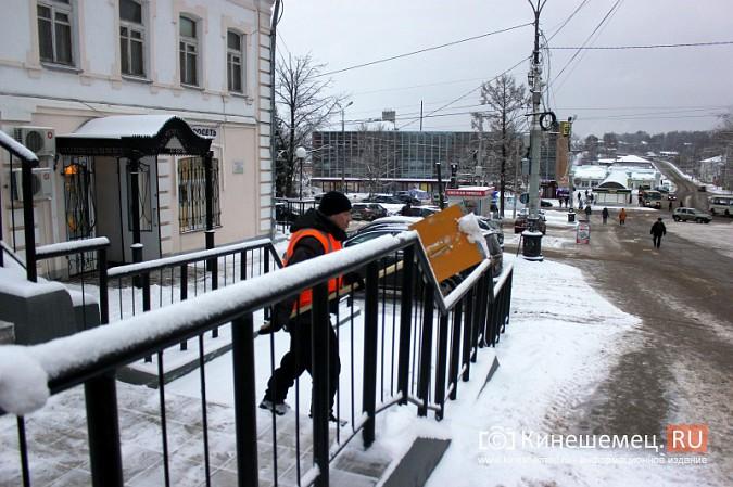 Ночной снегопад не стал тяжелым испытанием для коммунальщиков фото 9