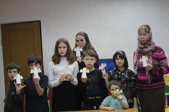 Кинешемских детей научили делать фигурки ангелов из бумаги фото 2