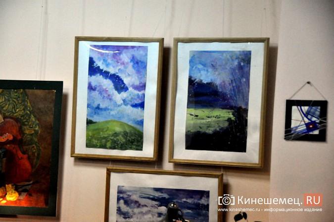В Кинешемской художественной школе открылась выставка выпускников фото 5