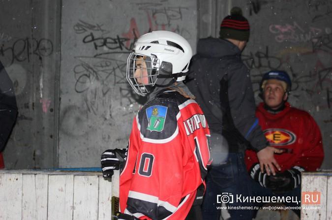 В хоккейном дерби Кинешмы забросили 25 шайб фото 33