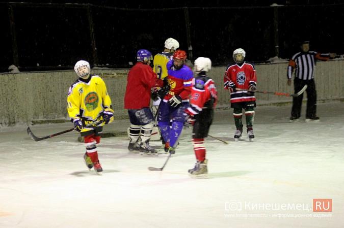 В хоккейном дерби Кинешмы забросили 25 шайб фото 22