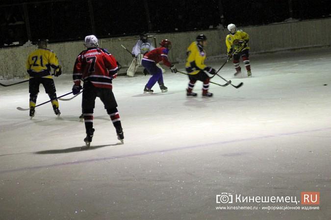 В хоккейном дерби Кинешмы забросили 25 шайб фото 6