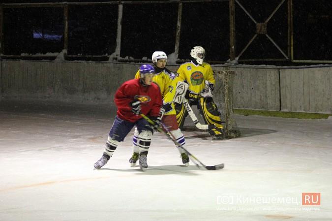 В хоккейном дерби Кинешмы забросили 25 шайб фото 2