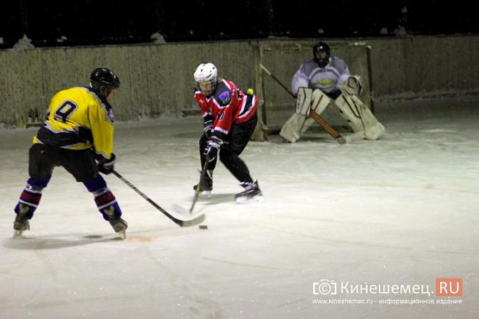 В хоккейном дерби Кинешмы забросили 25 шайб фото 7