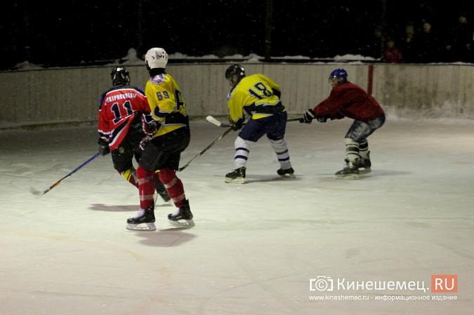 В хоккейном дерби Кинешмы забросили 25 шайб фото 18