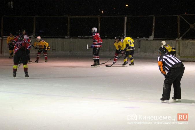 В хоккейном дерби Кинешмы забросили 25 шайб фото 23
