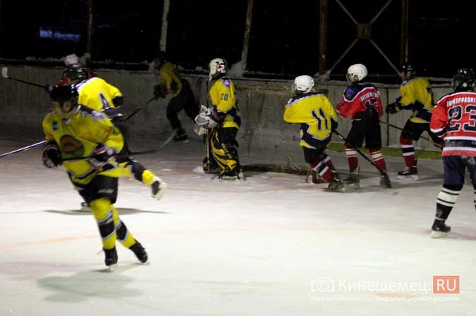В хоккейном дерби Кинешмы забросили 25 шайб фото 3