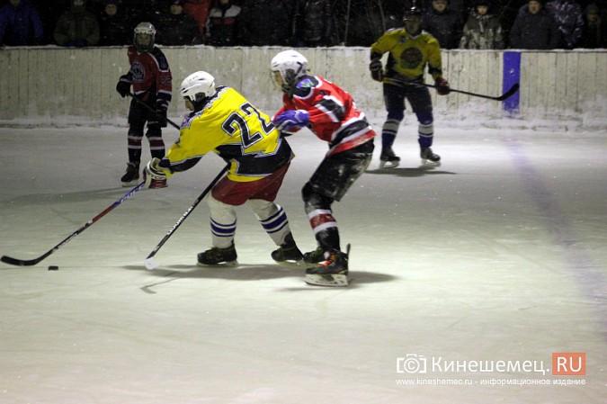 В хоккейном дерби Кинешмы забросили 25 шайб фото 20