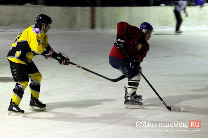 В хоккейном дерби Кинешмы забросили 25 шайб фото 16
