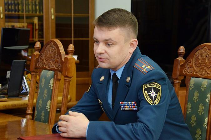 Станислав Воскресенский встретился с новым руководителем МЧС по Ивановской области фото 3